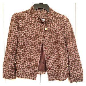 Lilly Pulitzer Vintage 3/4 Sleeve Blazer Jacket